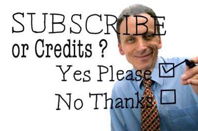 subscribe credits > Do I need a Stock Photo Subscription or Can I buy Individual Image Credits?