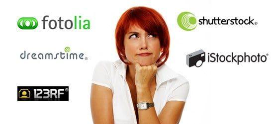 agency compare > Stock Photo Agencies Compared: Shutterstock, iStockphoto, Fotolia, Dreamstime, 123rf