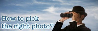 How to find the right stock photo