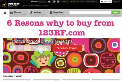 6 resons 123rf > 6 Reasons why to buy stock photos from 123RF.com