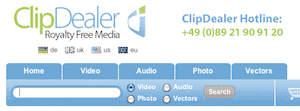 clipdealer search > Clipdealer Review