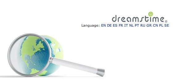 > Dreamstime additional languages has meant additional photos