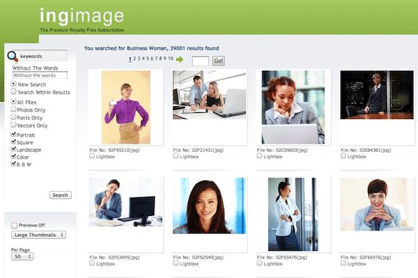 ingimage search > Ingimage Review