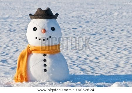 cute winter photo Bigstock