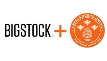 bigstock free union > Bigstock announced new partnership with Freelancer Union