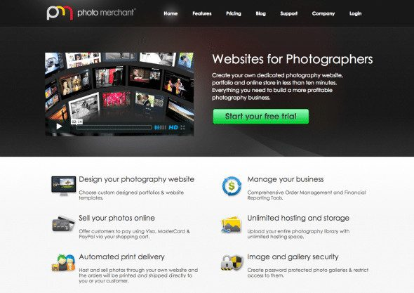 Photo Merchant Screenshot