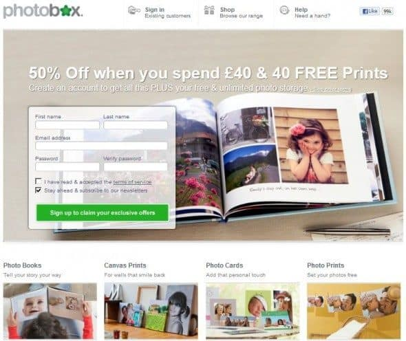 photobox risk free online photo gallery and merchandising selling platform for photographers