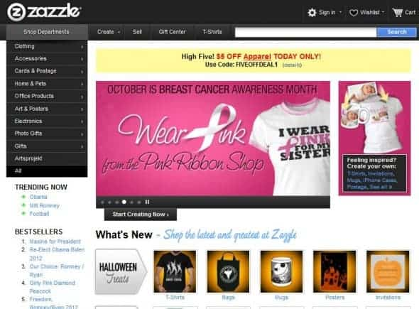 zazzle helps to revolutionize merchandise selling for artists and photographers