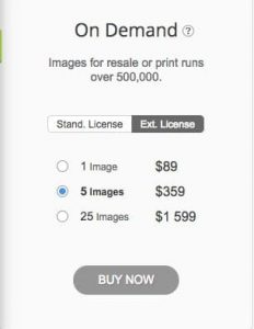 Depositphotos Extended License Packs > Buy Images for Commercial Use or Where to Get Images Licensed to Print on T-Shirts?