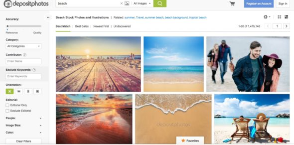 Depositphotos Search Tool > Depositphotos Review - A Comprehensive View (+5 Free Photos + [coupon_discount] Discount)