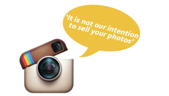 instagram intention1 > Instagram Co-Founder: 'It is not our intention to sell your photos'