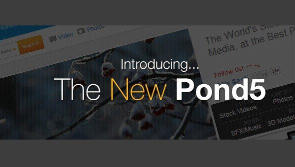 new pond5 > Pond5 releases new Website with great new Features!