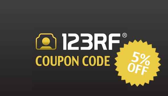 123rf coupon code 5 off fast media. Black Bedroom Furniture Sets. Home Design Ideas