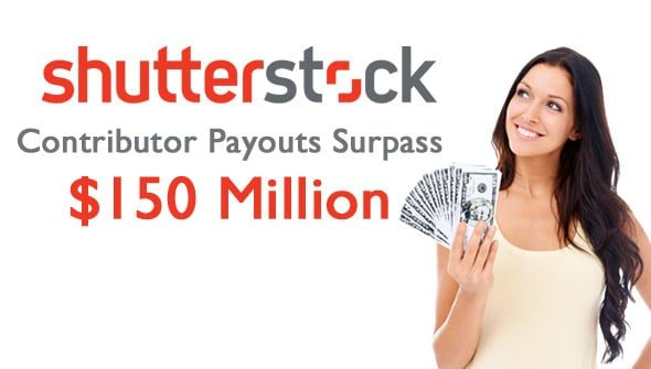 shutterstock payout 150million > Shutterstock Contributor Payouts Surpass $150 Million