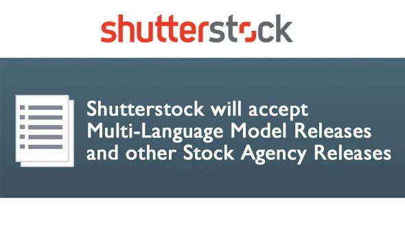 shuttertock model release > Shutterstock will accept Multi-Language Model Releases