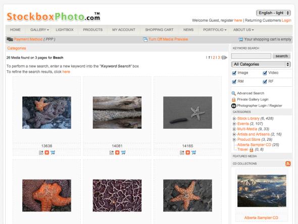 Stockbox Photo Screenshot