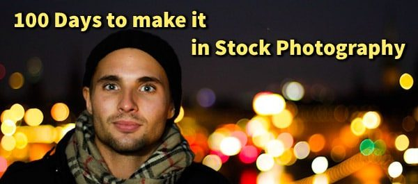 100 days to make it in stock photography