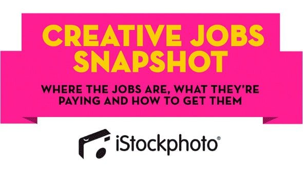 creative jobs snapshot > iStockphoto Infographic - Successful Creative Jobs