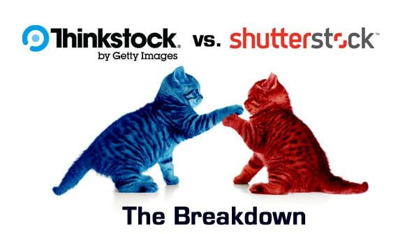 Thinkstock vs. Shutterstock