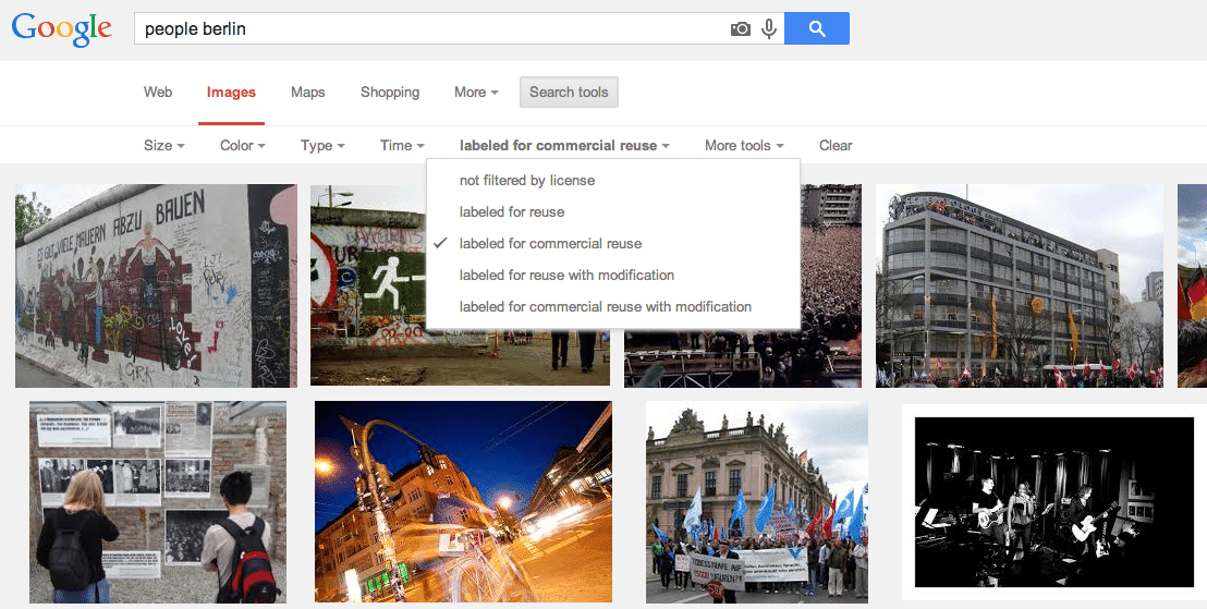 How Not To Use Google S New Usage Rights Image Filter Stock Photo Secrets