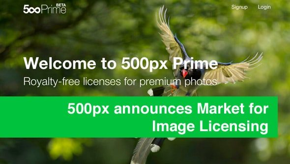 500px market prime > 500px announces Market for Image Licensing