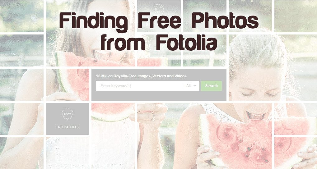 finding free photos from fotolia > Where can i find free photos from Fotolia?