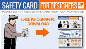 featured infographic d > Stock Photo Safety Card for Designers (Infographic)