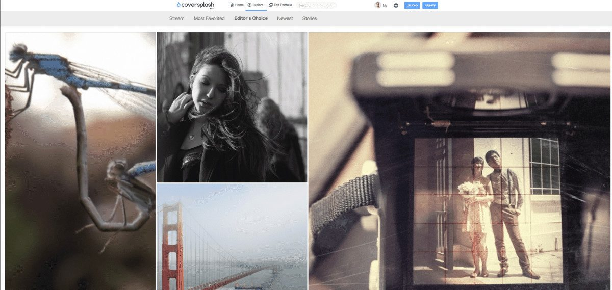 Coversplash Overview > Coversplash - Beautiful, Social Websites for Photographers with Webshop System