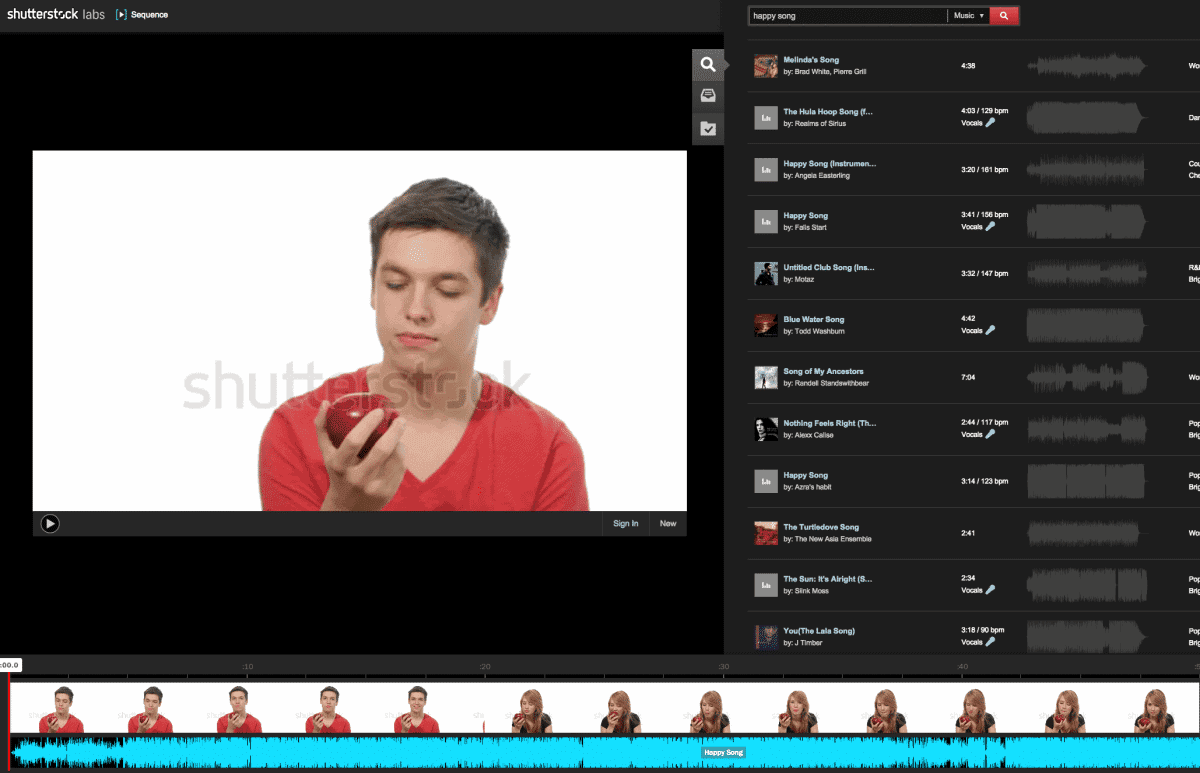 Screen Shot 2014 11 10 at 9.04.28 AM > Shutterstock introduces Sequence for web based video editing