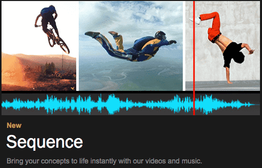 Shutterstock Sequence for online video editing