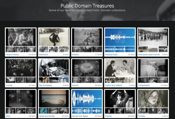 Pond5 Public Domain Search Site