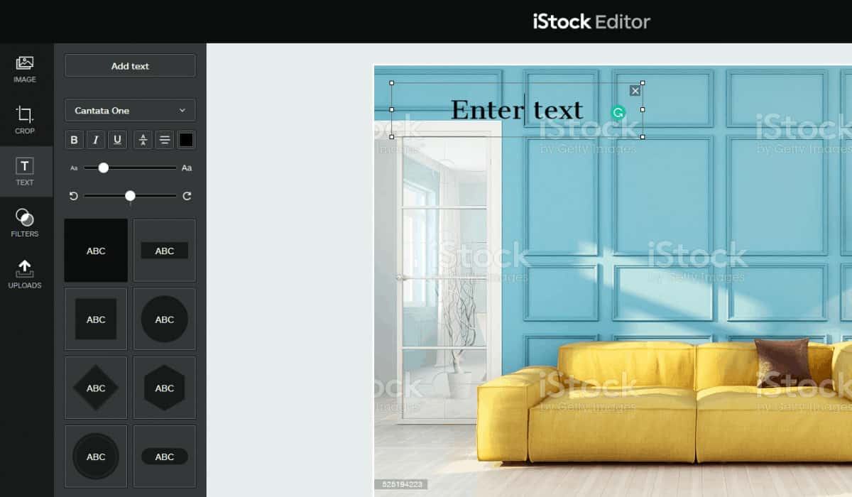 iStock Editor > The 7 Best (Free) Tools to Add Text to Stock Photos