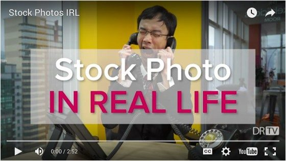 stock photos real life > The Truth Behind Stock Photography… according to DRTV (VIDEO)