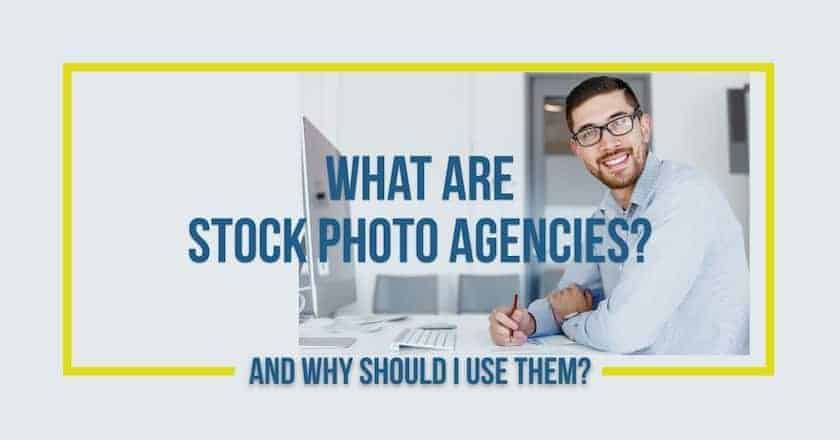 What are stock photo agencies?