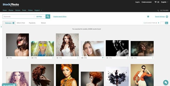 Stock Photo Secrets image search