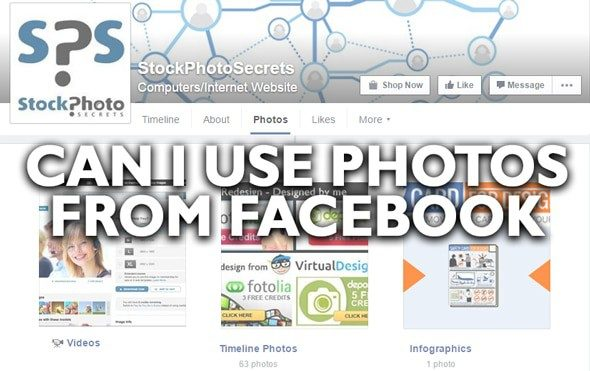 can i use photos from facebook > Can I Use Photos From Facebook? A cheap and easy solution!