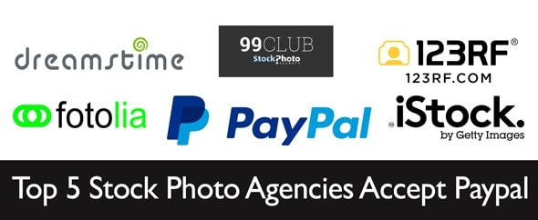 top 5 stock agencies accept paypal > Which Top 5 Stock Photo Agencies accept Paypal?