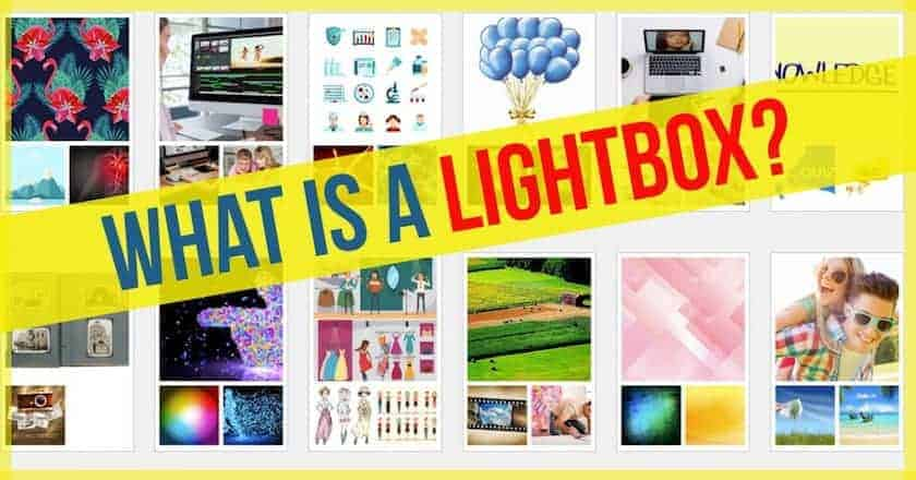 what is > What is a Lightbox?