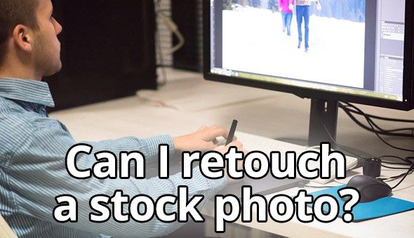 can you edit stock photo 2 > Can I retouch stock photo I have bought?