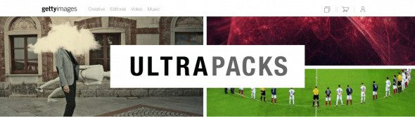 Getty Images Ultra Packs Screenshot