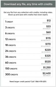 iStock Credits 2017 > iStock reduces Collections and changes Prices for better (UPDATE)