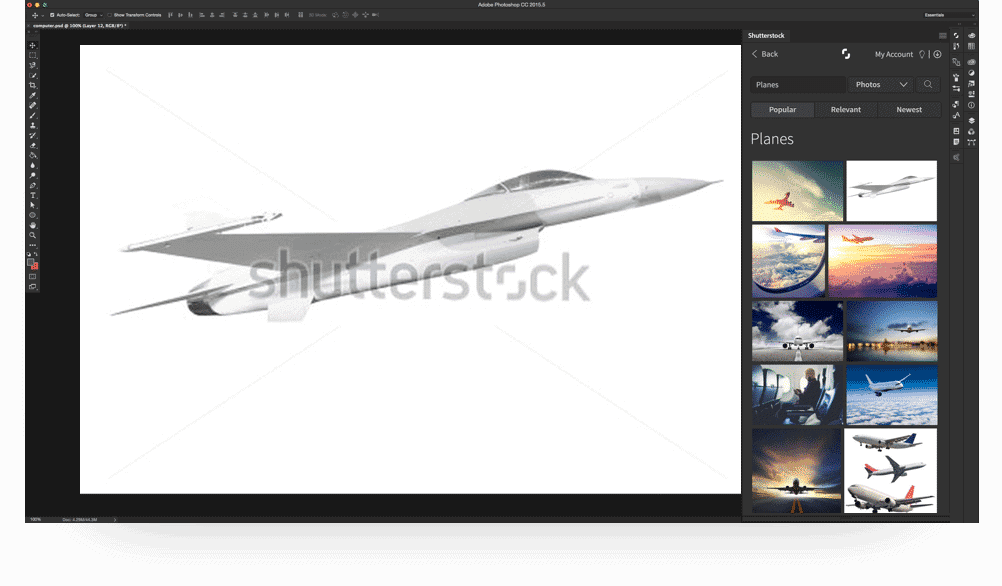 Shutterstock Photoshop Plugin > Shutterstock's New Photoshop Plugin: Great Images, Better Workflow