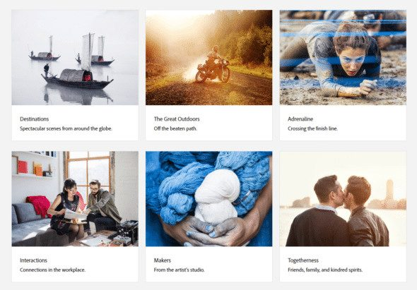 Adobe Stock Premium Collection Mosaic > What is Adobe Stock? Discover Adobe's Stock Photo Offer for Designers