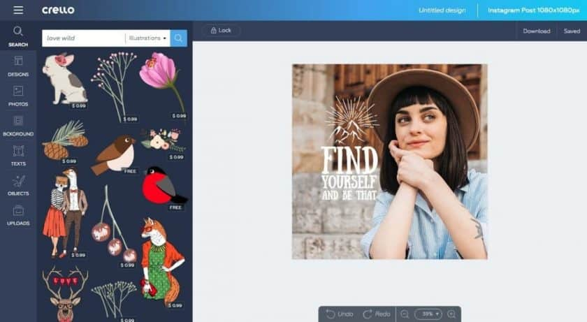 04 crello press kit > Crello: Depositphotos' Free Image Editor for Non-Designers!