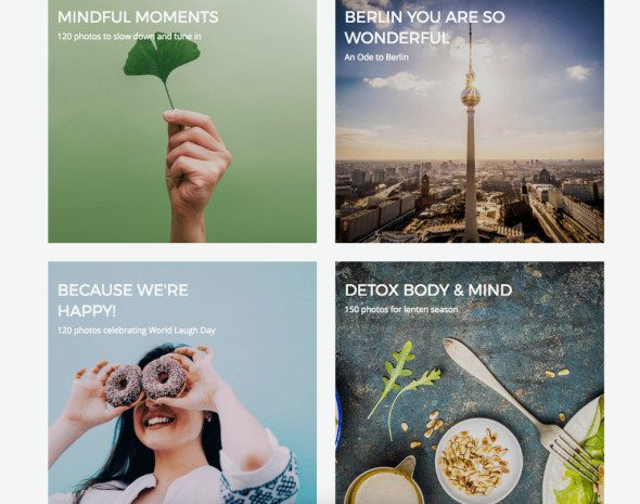 PhotoCase Categories Screenshot > Enter the World of Unique Stock Photos - You'll Love It!