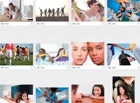 StockPhotoSecrets Shop screenshot diversiteit afbeeldingen