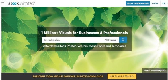 StockUnlimited Homepage > Unlimited Stock Photos: Top 4 Agencies to Get Unlimited Downloads Cheap