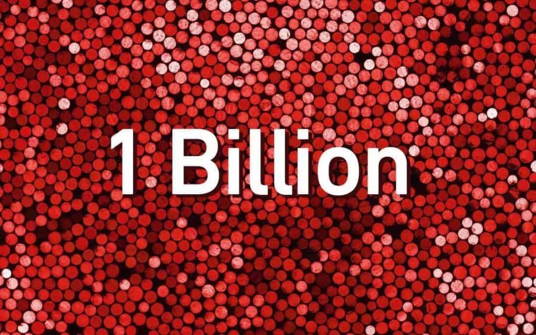 1Billion 2880x1800 e1534688527402 > Shutterstock Celebrates Over 1 Billion Licenses Sold!