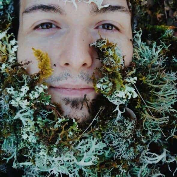 Photocase Instagram Man in Bushes > Enter the World of Unique Stock Photos - You'll Love It!