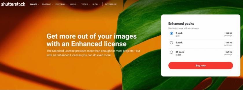 www.shutterstock.com buy enhanced license